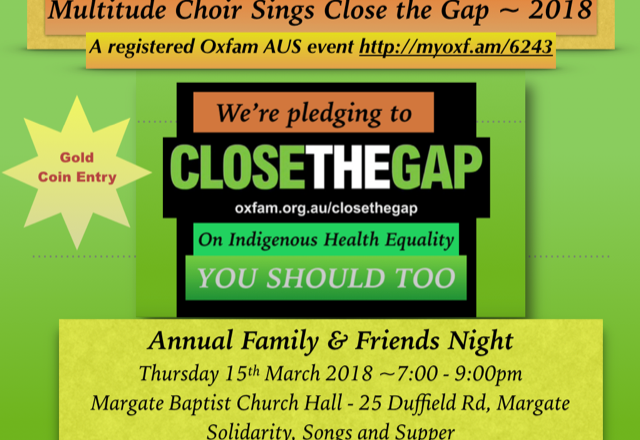 Close The Gap 2018
